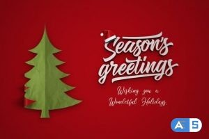 Videohive Simple Christmas Intro 22993198