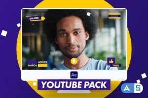 Videohive X-Youtube Pack   After Effects 29941645