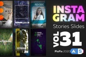 Videohive Instagram Stories Slides Vol. 31 30048800