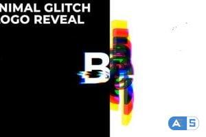 Videohive Minimal Glitch Logo Reveal 30107368