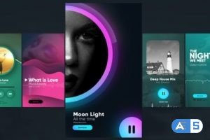 Videohive Instagram Music Stories 30141893