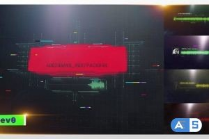 Videohive Digital Audio Waveform/ HUD Screens/ UI Display/ Sci-Fi Interface/ Hi-Tech Titles/ Music Visualizer 30138008