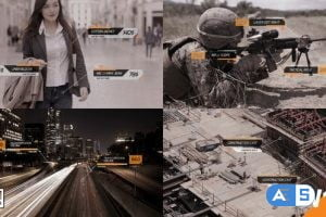Videohive Call Outs HUD Digital 23958715