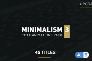 Videohive Minimalism 3 14588541