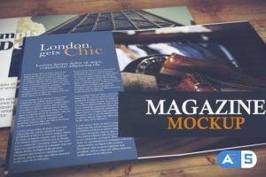 Videohive Magazine Mockup 26306134