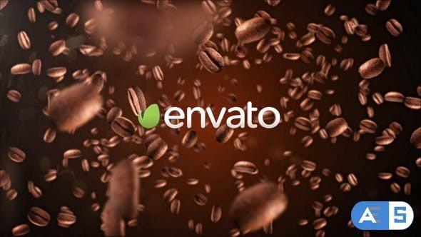 Videohive Coffee Logo 4K 22652936
