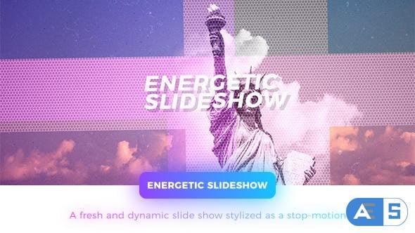Videohive Energetic Slideshow 20646965