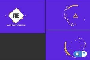 Videohive Shape Logo Opener – Creative 20336970