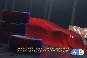 Videohive Mystery Car Dark Opener 23236556