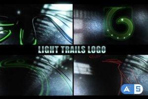 Videohive Light Trails Logo 11165977