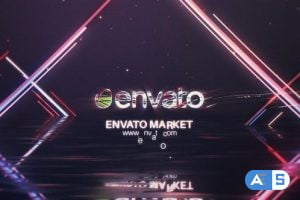 Videohive Cyber Water Logo 23786214