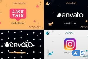 Videohive Abstract Logo Reveal || After Effects 30204155