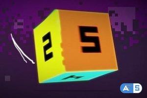 Videohive Pixel Cube 8979441