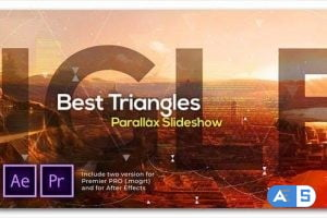Videohive Best Triangles Parallax Slideshow 29855981