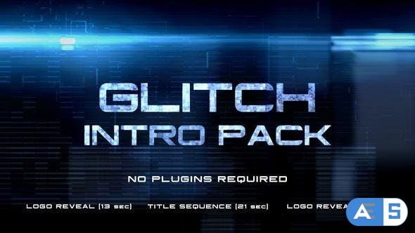 Videohive Glitch Intro 8819593