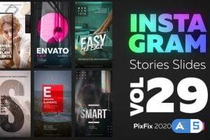 Videohive Instagram Stories Slides Vol. 29 30006916