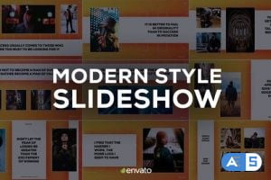 Videohive Modern Style Slideshow 23453297