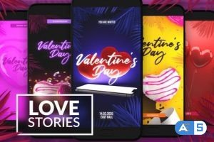 Videohive Love Instagram Stories 29926543
