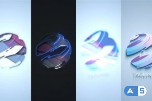 Videohive Clean Dark Light Logo 29364608
