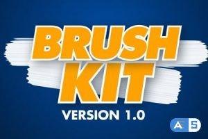 Videohive – Brush Kit Vr 1.0 – 27016927