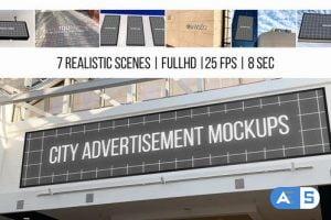 Videohive City Advertisement Mockups 22989962
