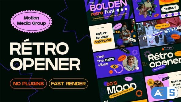 Videohive California | Retro Opener 30438471