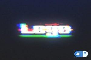 Videohive Fast Glitch RGB Logo Reveal 30379950