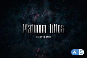 Videohive Platinum Trailer 22505550