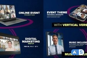 Videohive Online Event Promo – Device Mock-up 30446183