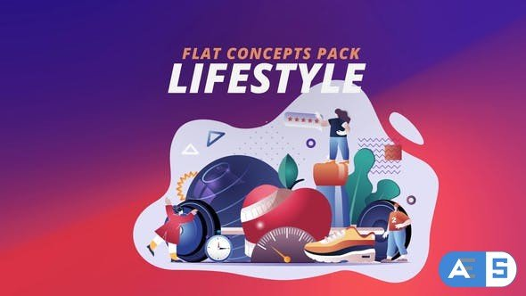 Videohive Lifestyle – Flat Concept 30816727