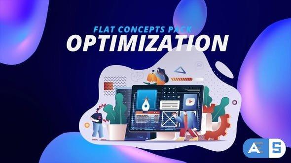 Videohive Optimization – Flat Concept 30816887