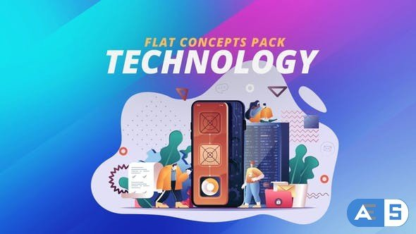 Videohive Technology – Flat Concept 30816909