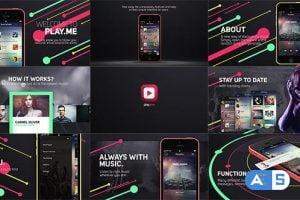 Videohive Music App Promo 15295992