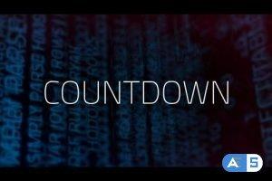 Videohive Digital Countdown 24411054
