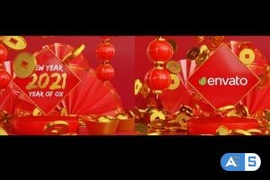 Videohive Chinese New Year Logo Reveal 3D 30318278