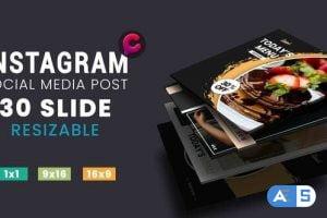 Videohive Media Post Fashion – Food 29517881