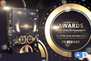 Videohive – Cobalt Golden Luxury Awards 4K – 29533719