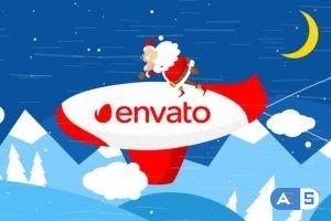 Videohive Christmas Logo Opener 9 – zeppelin 25314501