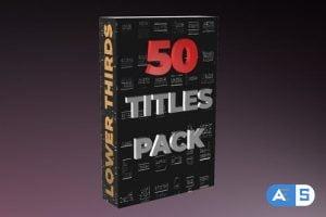 Videohive Modern Titles 50 30018713