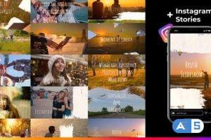 Videohive Brush Slideshow 30593936