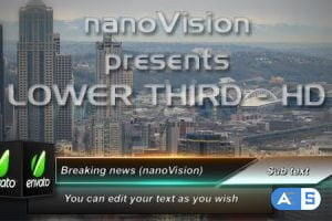 Videohive Cube Lower Third 104624