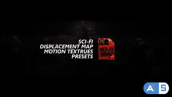 Videohive Sci-fi Displacement Map Motion Textrues Presets 27187546