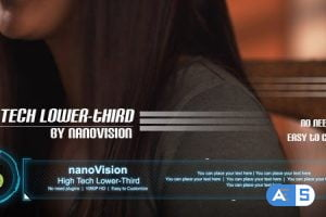Videohive High Tech Lower-Third 3817405