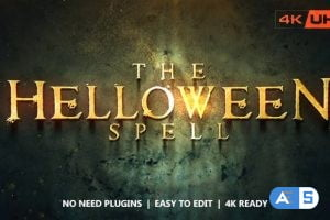 Videohive The Helloween Spell 13359917