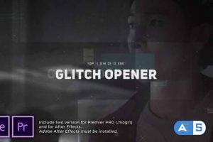 Videohive – Glitch Media Opener – 30586434