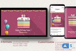 Videohive Birthday Opener 30552660