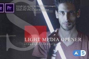 Videohive – Light Media Opener | Slideshow – 30449150