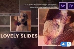 Videohive – Lovely Slides Photo Gallery – 30449240