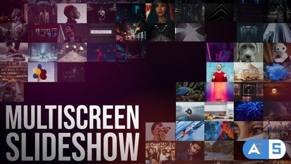 Videohive Multiscreen Slideshow || After Effects 30632180