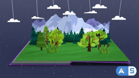 Videohive  Pop-Up Book Template 27902497